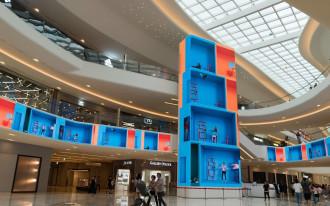 Оснащение торговых центров