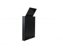 [WR-15GT Touch / RD-SST15FHD (silver)] Моторизированный выдвижной монитор Genuis Tilt Wize Pro WR-15GT