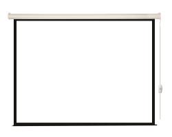 [LEC-100110] Экран с электроприводом Lumien Eco Control 165x240 см (раб. область 131х232 см) Matte White, верх.кайма 17 см,