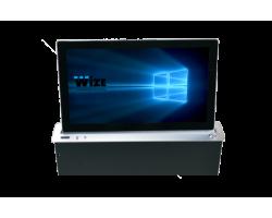 [WR-15GF Touch (silver)] Моторизированный выдвижной монитор Genuis Fixed Wize Pro WR-15GF Touch