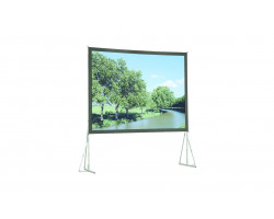 [10530575] Полотно для экрана Da-Lite Heavy Duty Fast-Fold 373х640см (23') Dual Vision 16:9
