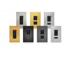 Накладка декоративная Crestron CBD-FP-ASCENT-A/BRS