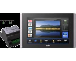 Система управления на базе сенсорной панели touchCUE-7-B и контроллера controlCUE-versatile-d CUE Elite-CVD-7B