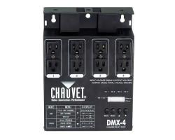 Энергетические установки CHAUVET-DJ DMX-4