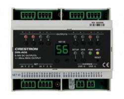 DIN-AO8 Crestron Аналоговый выходной модуль для монтажа на DIN рейку