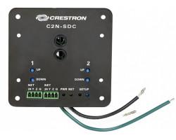 C2N-SDC Crestron Управление шторами и жалюзи, 2 выхода для 120 VAC 3-проводных двунаправленных моторов