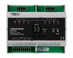DIN-IO8 Crestron Модуль с универсальными входами для монтажа на DIN рейку