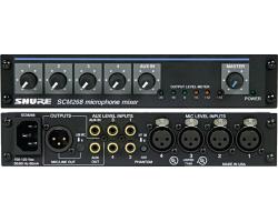 Микрофонные процессоры, микшеры, усилители SHURE SCM268E