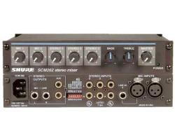 Микрофонные процессоры, микшеры, усилители SHURE SCM262E