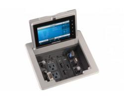 FT-TSC600 Crestron Настольный лючок FlipTop™ с системой управления и сенсорной панелью