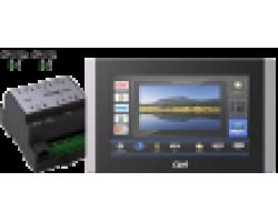 Система управления на базе сенсорной панели touchCUE-5-B и контроллера controlCUE-versatile-d CUE Elite-CVD-5B