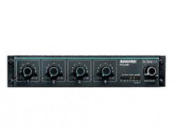 Микрофонные процессоры, микшеры, усилители SHURE SCM410E