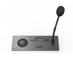 Врезной микрофонный пульт делегата с селектором каналов Televic Confidea F-DI