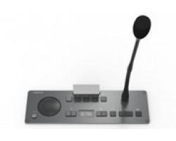 Врезной микрофонный пульт председателя с 5 кнопками для голосования Televic Confidea F-CIV