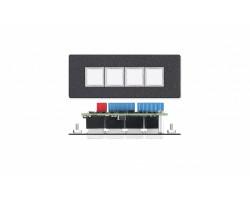4-кнопочная панель управления Extron CCR 4BLB [70-588-02]