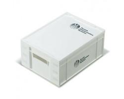 Пластиковый кейс с поролоном для 2-х пультов переводчика IS 6332 или LS 6000 и 2-х микрофонов GM 4422/6422
