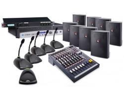 Беспроводная конференц-система среднего уровня