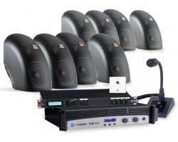 Комплект для озвучивания помещений (корпусная акустика)