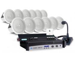 Комплект для озвучивания помещений (потолочная акустика)