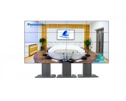Видеостена 4×4 на панелях Panasonic 47